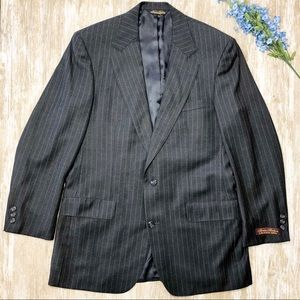 {Brooks Brothers Makers} 2 Button 100s Wool Blazer